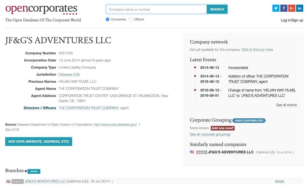 Page officielle ➡️ https://opencorporates.com/companies/us_de/5551078